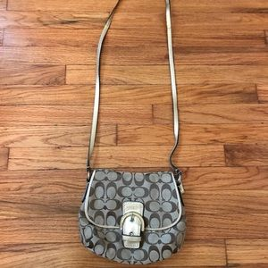 Coach cross-body purse